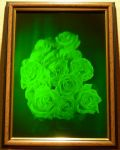 "Hologram ""Roses (vertical)"""